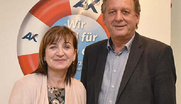 Eröffnung der AK Werkstatt; Bildungslandesrätin Dr. Beate Palfrader, AK Präsident Erwin Zangerl © -, AK Tirol