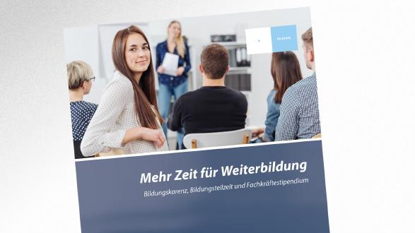 Broschüre Mehr Zeit für Weiterbildung © contrastwerkstatt – stock.adobe.com, AK Tirol