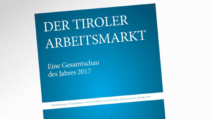 """Foto der Studie """"Der Tiroler Arbeitsmarkt"""" © AK Tirol"""