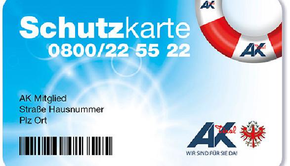 Die AK Schutzkarte © -, AK Tirol