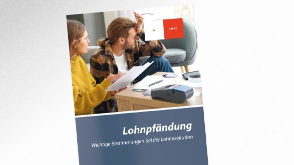 Broschüre Lohnpfändung © Pixel-Shot – stock.adobe.com, AK Tirol