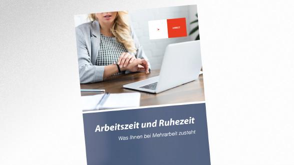 Broschüre - Arbeitszeit und Ruhezeit © © LIGHTFIELD STUDIOS – stock.adobe.com, AK Tirol