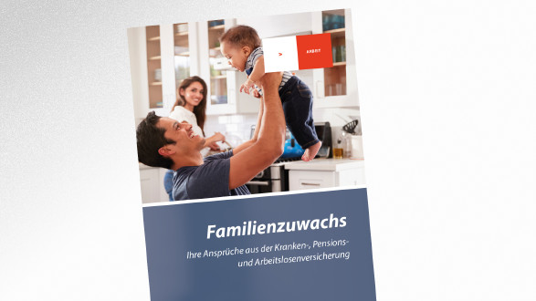 Broschüre Familienzuwachs © Monkey Business - stock.adobe.com, AK Tirol