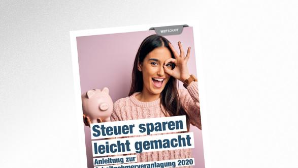 Brochüre Steuer sparen leicht gemacht © Krakenimages.com – stock.adobe.com, AK Tirol