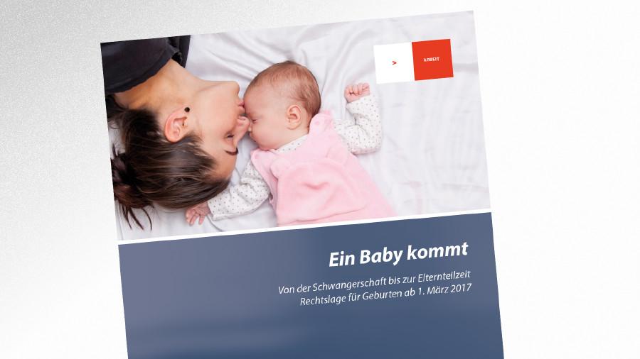 Broschüre Ein Baby kommt © AK Tirol
