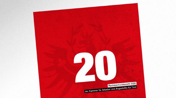 Broschüre Rechtsschutzbericht 2020 © AK Tirol, AK Tirol