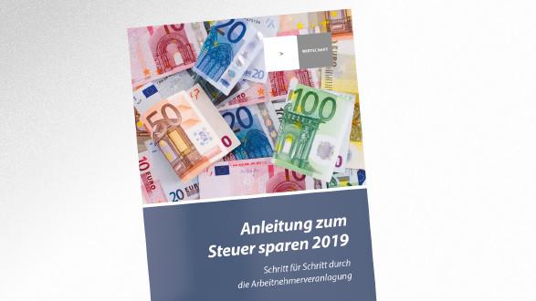 Broschüre Anleitung zum Steuer sparen 2019 © AK Tirol