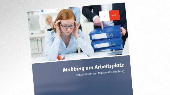 Broschüre Mobbing am Arbeitsplatz © pictworks – stock.adobe.com, AK Tirol