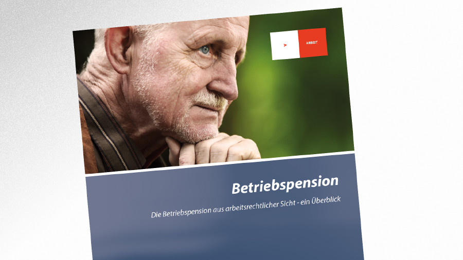 Broschüre Betriebspension © AK Tirol