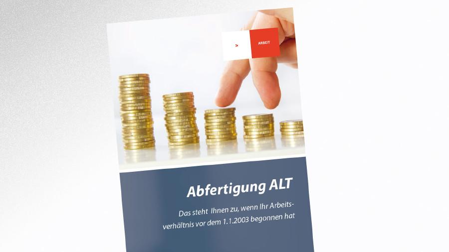Broschüre Abfertigung alt © -, AK Tirol