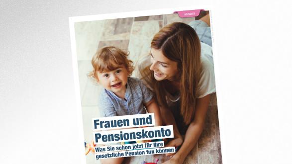 Broschüre Frauen und Pensionskonto © Alena Ozerova – stock.adobe.com, AK Tirol