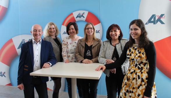 Gruppenbild des Teams der AK Reutte © AK Tirol