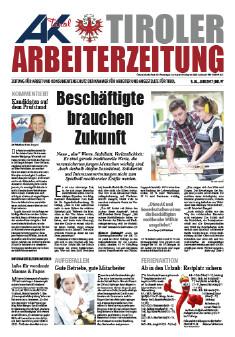 Tiroler Arbeiterzeitung Ausgabe Juni 2017 © AK Tirol
