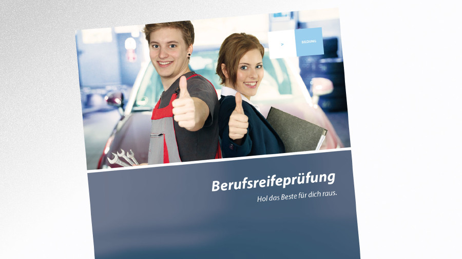 Broschüre Berufsreifeprüfung © -, AK Tirol
