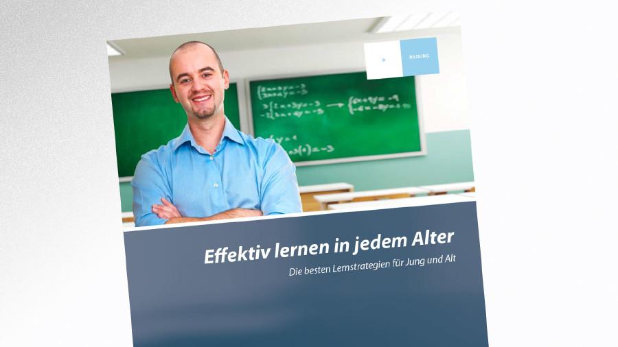 Broschüre Effektiv lernen in jedem Alter © AK Tirol, AK Tirol