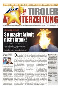 Titelseite AZ Februar 2020 © AK Tirol