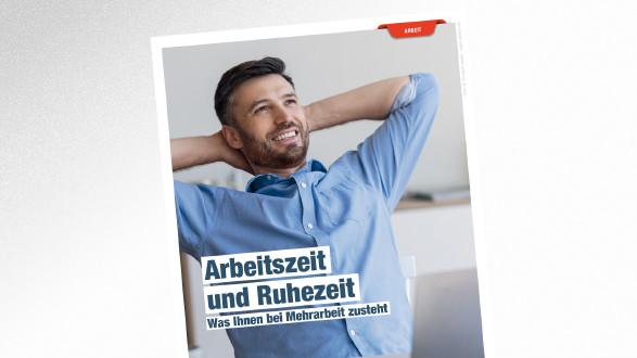 Broschüre Arbeitszeit und Ruhezeit © Prostock-studio – stock.adobe.com, AK Tirol