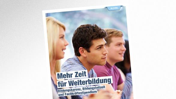 Broschüre Mehr Zeit für Weiterbildung © Monkey Business – stock.adobe.com, AK Tirol