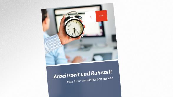 Broschüre Arbeitszeit und Ruhezeit © © adrian_ilie825 – stock.adobe.com, AK Tirol
