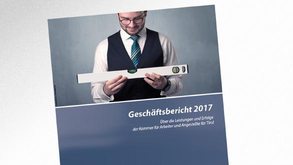 Broschüre Geschäftsbericht 2017 © -, AK Tirol