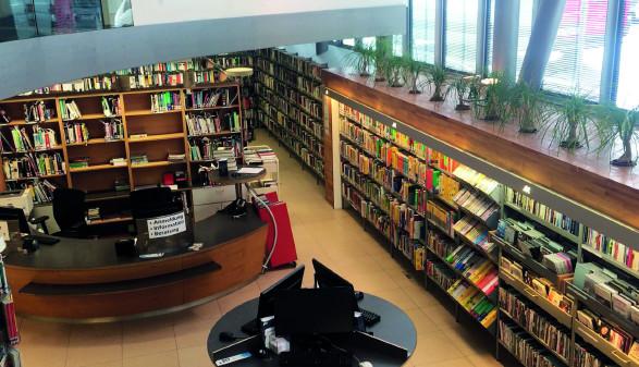 AK Bibliothek Tirol © AK Tirol